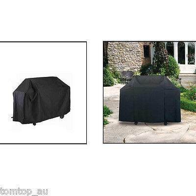 2 Size Waterproof BBQ Cover Garden Outdoor Burner Barbecue Grill Storage