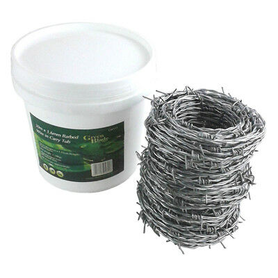 30M X 1.7Mm Barbed Wire In Carry Tub