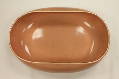 Russel Wright - Coral Vegetable Dish - Rolled Edge Steubenville, American Modern