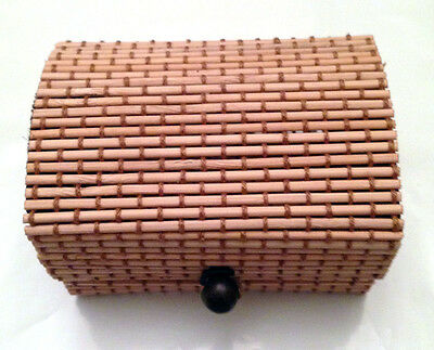 Bamboo Casket for Jewelry, Handmade. New