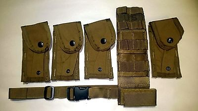 Coyote Molle Pistolman Pocket Set USMC New Military Surplus
