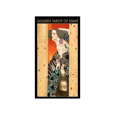 NEW Golden Tarot of Klimt Deck Cards Lo Scarabeo Gustav Klimt