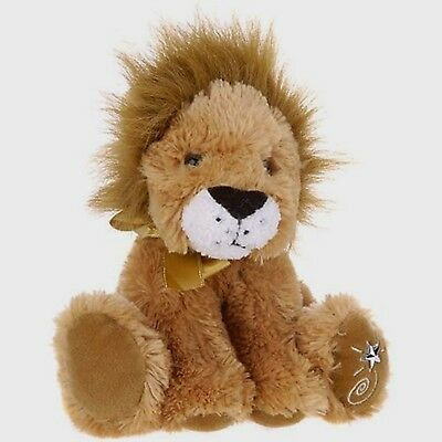 Russ Berrie Shining Stars Plush Lion  Soft Fuzzy New with all tags