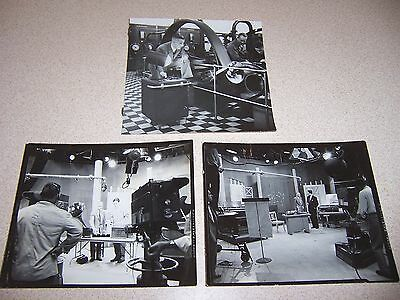 1930s/40s PHILIPS TELEVISION MUSIC STUDIO ORIGINAL PHOTOS