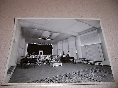 1940s PHILIPS TELEVISION BELGIUM BAND MUSIC STUDIO ORIGINAL 7X9 PHOTO