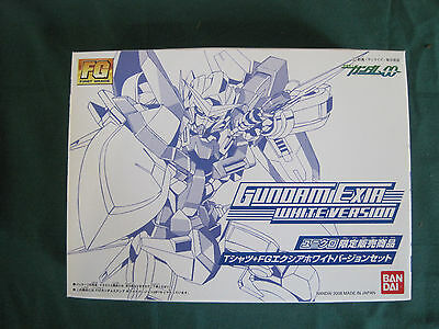 Gundam FG Exia White Version  Limited in Japan Bandai Complete Unassembled