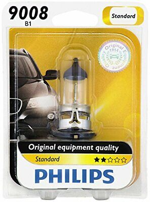 Philips Standard 9008 H13 60/55W Two Bulbs Head Light Replacement High Low Beam