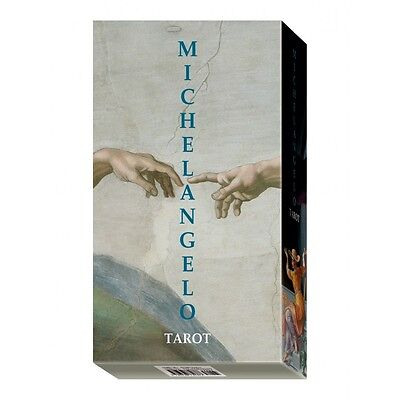 NEW Michelangelo Tarot Deck Cards Lo Scarabeo