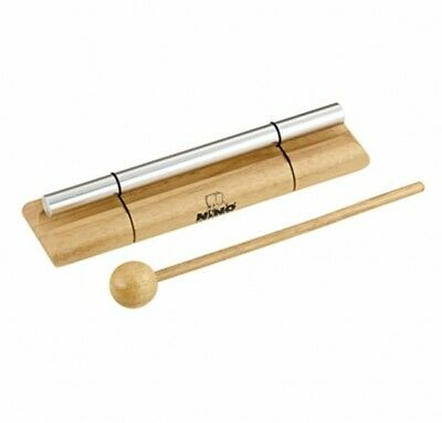 Meinl NINO579M Nino Percussion Medium Energy Chimes, Natural Wood