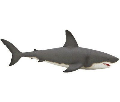 FREE SHIPPING | Mojo Fun 387120 Great White Shark Sealife Model - New in package