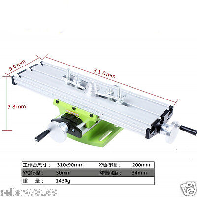 1 set mini multifunctional working table for Drilling milling machine Bench Vise