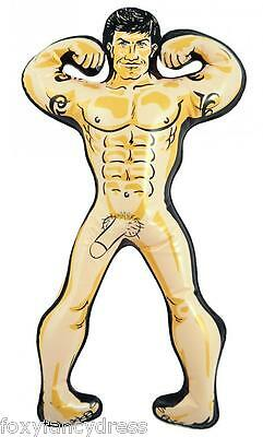 Mr Wonder Willy Inflatable Hen Party Night Fun Blow Up Man Accessory 32cmTall