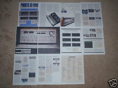 Pioneer SX-1980 Brochure! Rare! 11 pages of Specs,Info