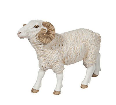 FREE SHIPPING | Papo 51129 Ram Sheep Animal Figurine Model Toy- New in Package