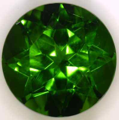 Natural Extra Fine Green Chrome Diopside - Round - Eastern Siberia - Aaa+ Grade
