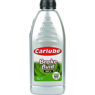 Carlube Synthetic Brake Parts & Clutch Fluid Dot 4 1 Litre BFL100