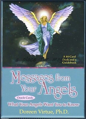 NEW Doreen Virtue Messages From Your Angels Oracle Cards Deck