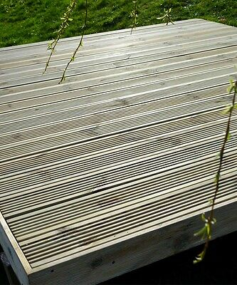 1.8M X 2.4M Deluxe Decking Kit (No Handrail)