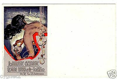 Postcard Italian Electrical Supplies Signed Hohenstein