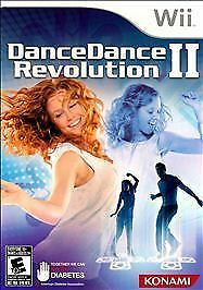 NINTENDO WII GAME DANCE DANCE REVOLUTION II BUNDLE WITH MAT BRAND NEW & SEALED