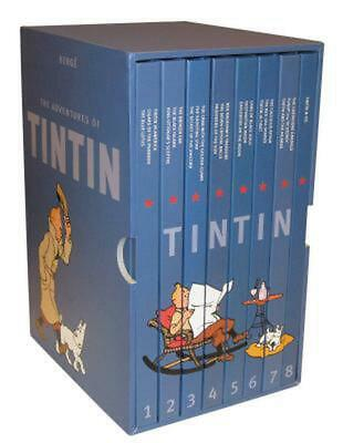 The Adventures of Tintin: Collector's Gift Set [Hardcover] by Herge (English) Bo