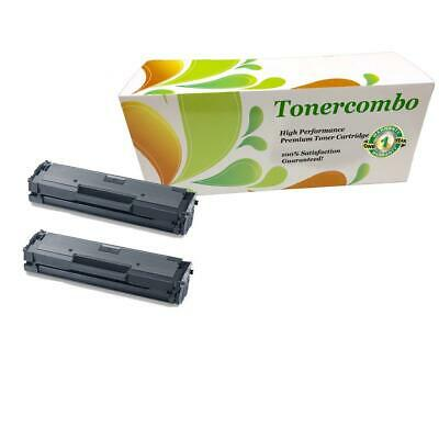 2 pk MLT-D111S Toner Cartridge for Samsung Xpress M2022 Xpress M2070W Printer