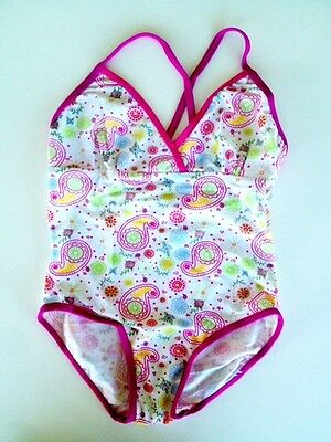 New Girls 1 Piece Swimwear Swimmers Bathers Various Sizes 5-12