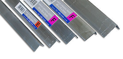 Aluminium Unequal Angle Various Sizes / 2200mm Long Grade HC6061 Mill Finish