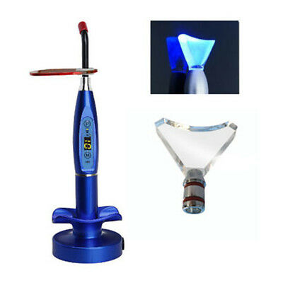 Dental Wireless LED Curing Light Cure Lamp 1500mw Blue + Whitening Tip US STOCK