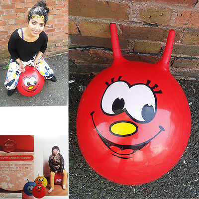 Fun Space Hopper Jump Bouncy Ball Inflatable Outdoor Play Kid's Adult Fun Games