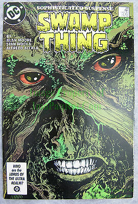 Swamp Thing #49 KEY 1st Justice League Dark Alan Moore BIG PICS Movie Coming!