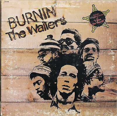 """BURNIN'"" ..THE WAILERS & BOB MARLEY...Retro Album Cover Poster Various Sizes"
