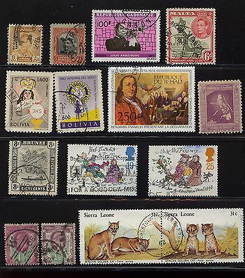 (LOT 16738) USED FOREIGN COLLECTION