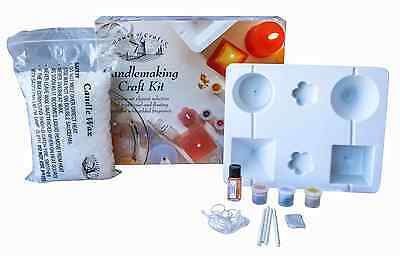 House of Crafts Candle Making Craft Kit Floating Scented Wax Wicks Starter Set