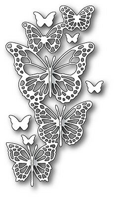 Memory Box Craft Die Butterfly Exhibit 99148