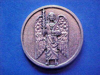 Rare ARCHANGEL ST Michael Pocket Token Protection Saint Medal Justice Goodwill