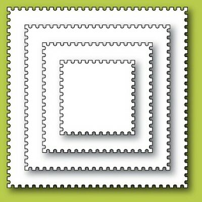 Memory Box Craft Die Postage Square Layers 30049