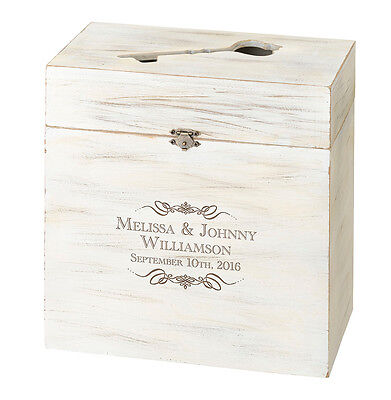 Wooden Key Box Alternative Wedding Guest Book/card Box-Personalize-Special Price