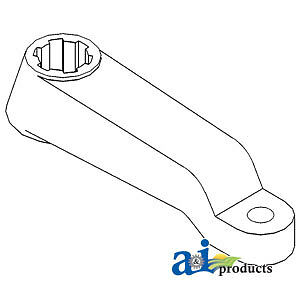 Compatible With John Deere STEERING ARM RH R49849 4760,4755,4650,4640,4630,4560,