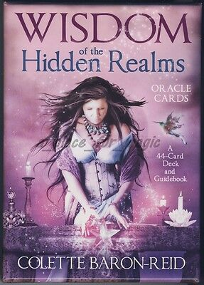 NEW Colette Baron-Reid Wisdom Of The Hidden Realms Oracle Cards Deck