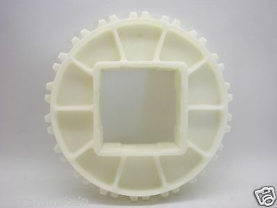"Intralox Plastic Sprocket Series 900 6.1"" P.D.  2.5"" Square Bore b129"