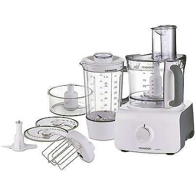 Kenwood FDP613 1000W Variable Speed Food Processor with Blender in White New