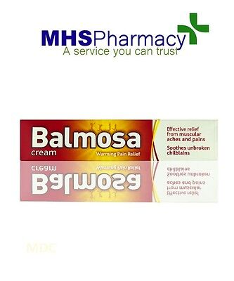 Balmosa Cream - 40g Soothes Unbroken Chilblains and Relieves Muscular Pains