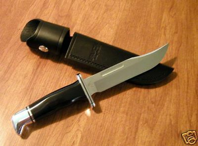 BUCK New 119 Special Hunter With Black Phenolic Handles Fixed Blade Knife/Knives