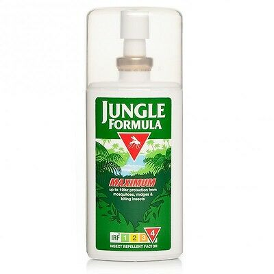 Jungle Formula Maxium Pump Spray 90ml IRF4 50% DEET Insect Repellent