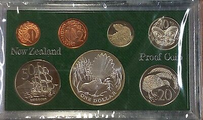 1980 new Zealand Proof coin set.