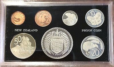 1975 new Zealand Proof coin set.