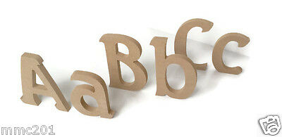 MDF Wooden Alphabet Letters & Numbers Seagull Font