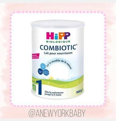 1 Can HiPP Organic Combiotic Infant Milk - Stage 1 French / Dutch Version - 900g