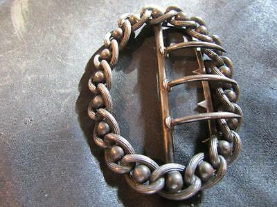 Lovely Antique Solid Silver Buckle